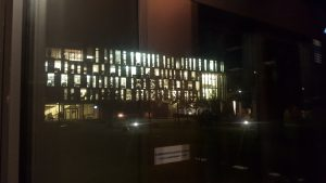 Photo: Bucerius Law School at night